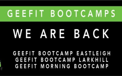 Geefit bootcamp Eastleigh is back up and running